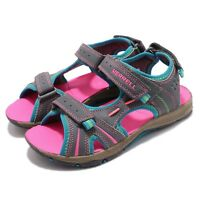 Merrell Panther Grey Turq Pink Kid Preschool Sports Sandals Water Shoes MC53428A
