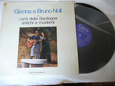 """GIANNA E BRUNO NOLI""""CANTI DELLA SARDEGNA-disco 33 giri CETRA it 1974"""""""