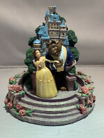 Extremely Rare! Very Detailed! Walt Disney Beauty and the Beast  Castle Statue