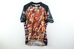 Vintage Primal Wear Mens XL Queen Jazz Fat Bottomed Girls Bicycle Cycling Jersey