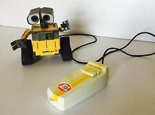 """DISNEY PIXAR WALL-E REMOTE CONTROL 100% FULLY WORKING TOY ROBOT Wired 4"""""""