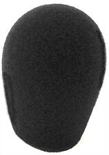 """Beyer M58 Microphone Windscreen Black foam 1"""" from WindTech 600 series 5066"""
