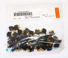 Yellow T-1 3/4 (5mm), Vertical 2 x LED, QT# MV63539.MP93 - Lot of 50
