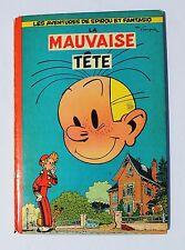 SPIROU 8. La Mauvaise Tête. Dupuis 1956. Cartonné dos carré orange. EO franç.