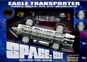 """Sixteen 12 Space 1999 Eagle Transporter """"The Exiles"""" - EGT-12"""