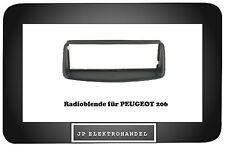 Radioblende  PEUGEOT 206 Einbaurahmen