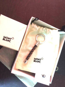MONTBLANC WOVEN GOOD condition with box and paperwork + lapel pin