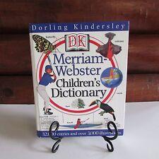 DK Merriam-Webster Children's Dictionary Hardcover