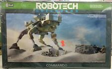 Robotech Defenders Vintage Revell Model kits Commando Scale 1/48 1984