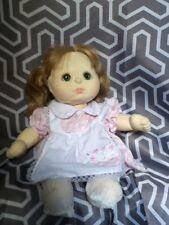 Vintage My Child Doll Mattel 1985 Blonde Hair Green Eyes Beautiful