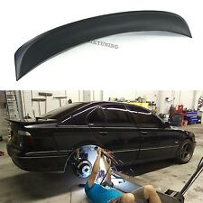 BMW E39 CSL Rear Boot Lid Trunk Spoiler Ducktail Wing Lip Addon 4 Door Sedan