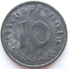 TOP! 10 Reichspfennig 1941 F in VORZÜGLICH !!!