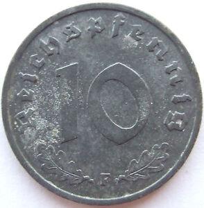 10 Reichspfennig 1941 F in Vorzüglich !!!