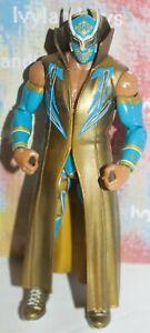WWE Sin Cara Mattel Elite Action Figure Wrestling Series 15 Gold Robe
