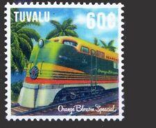 Tuvalu 2013 MNH, Orange Blossom Special, Train, Railways, Engine