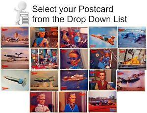 1988 Thunderbirds TV Series Postcard- Engale UK Import- U Pick Your Choice of 18