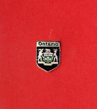 ONTARIO PROVINCE PIN - RARE PIN BADGE CANADA .
