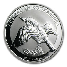 Mint Roll of 20 x 2011 Australia 1 oz Perth .999 Silver Kookaburra