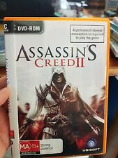 Assassin's Creed II  -   PC GAME - FREE POST *