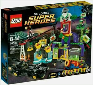 LEGO DC Comics Super Heroes Jokerland Set 76035 Brand New Sealed