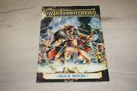 Warhammer Quest Rule Book