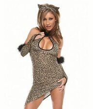 Sexy Leopard Dress Costume Womens Extra Small