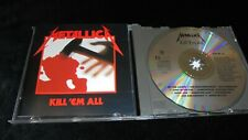 Metallica – Kill 'Em All 1989 VERTIGO Germany mint- CD thrash speed