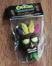 Crash Bandicoot Aku Aku Key Chain GameStop Pre Order Bonus New in Package Nice!