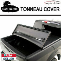 "2009-2014 FORD F-150 Lock Truck Soft Tri-Fold TONNEAU COVER 8FT (96"") Long Bed C"