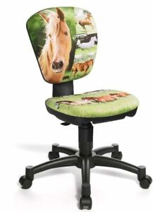 Topstar Kinder Drehstuhl Bürostuhl Jet Pferd Horse NEU