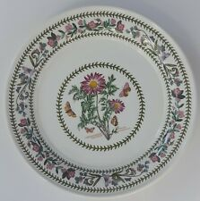Portmeirion Botanic Garden Variations Dinner Plate Chrysanthemum England Mint