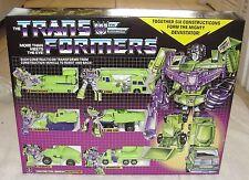 TRANSFORMERS DEVASTATOR MIB!  G1 VERSION DECEPTICON GIFTSET IN THE USA!