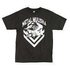 METAL MULISHA 'SPLOTCH'  T-SHIRT BLACK  SIZE MEDIUM **BRAND NEW**FREE POSTAGE**
