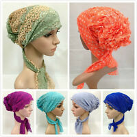 Women Muslim Inner Hijab Hats Lace Bandage Islamic Caps Underscarf Headwear Hot