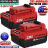 2PACK PCC685L 20V 6.0AH MAX Lithium-Ion Battery For Porter Cable PCC680L PCC682L