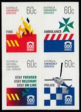 Australia  2010 Emergency Services Self Adhesive set SG 3445 - 3448  MNH