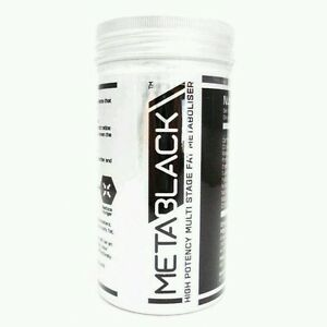 X2 tub MetaBlack- M3 - 60 Capsule - High potency multi stage extreme fat burner