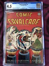 Comic Cavalcade #29, CGC 4.5, 10-11/'48