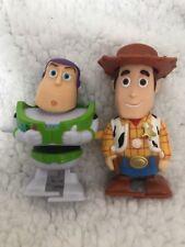 Wind Up Toy Story Buzz Y Woody Raro Disney Pixar