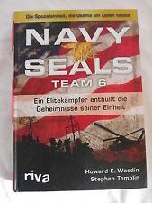 Navy Seals Team 6 von Howard E. Wasdin und Stephen Templin (gebundene Ausgabe)