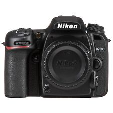 Nikon D7500 20.9MP Digital SLR Camera - Black (Body Only) 57622 Shutter Ct