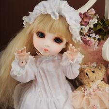 Dollmore BJD Clothes Mokashura Size - Mama Drowsy Dress Set (White)