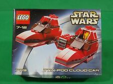 Lego 7119 Star Wars Twin-Pod Cloud Car Brand New & Sealed