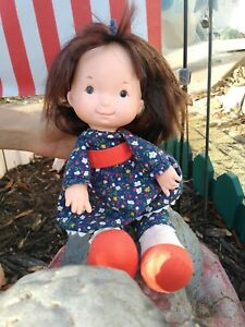 "Vintage 1973 Fisher Price 13"" Lapsitter Doll Jenny #201"