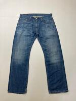 LEVI'S 514 SLIM STRAIGHT Jeans - W34 L30 - Blue - Great Condition - Men's
