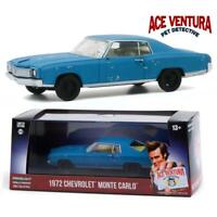 GREENLIGHT 86564 Ace Ventura 1972 Chevrolet Monte Carlo Diecast Car 1:43