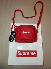 Supreme Red Shoulder Bag ss19 100% Authentic NWT