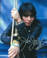 Joan Jett #2 8 X 10 Autographed Photo COA Singer Songwriter Crimson & Clover