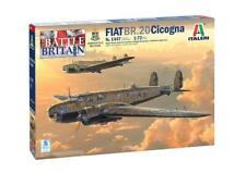FIAT BR.20 Cicogna super decal per 5 vers. Aereo Plane Kit ITALERI 1:72 IT1447