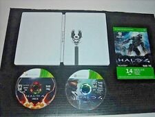 XBOX 360 HALO 4 LIMITED EDITION STEELBOOK w/ GAME + 14-DAY XBOX LIVE GOLD TRIAL